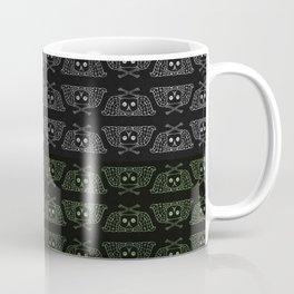 Winged Skull & Bones Coffee Mug