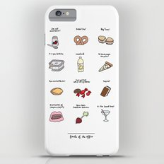 Foods of The Office Slim Case iPhone 6 Plus