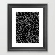 Nature black&white Framed Art Print