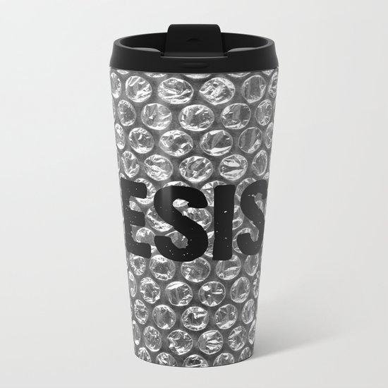 Resist Metal Travel Mug