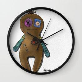 Gingerbread Rag Doll Wall Clock