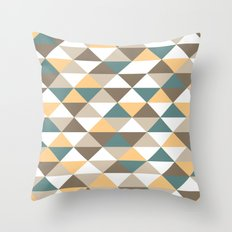 Triangle Pattern #2 Throw Pillow