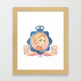 DCI Gene Fluffybutt Hunt Framed Art Print