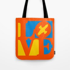 KEEPS HER IN THE AIR Tote Bag