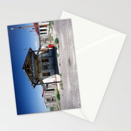 Somewhere on the Old Pecos Highway #5 Stationery Cards