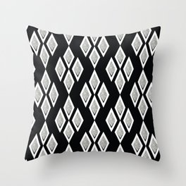Black and white ,classic.2 Throw Pillow
