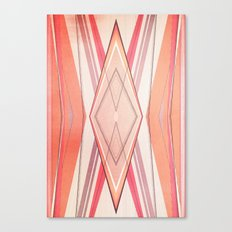 Money Pattern Respect Canvas Print