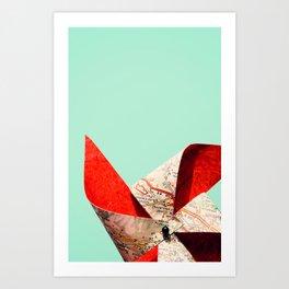 nothing but blue sky Art Print