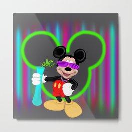 Mickey EDC Metal Print