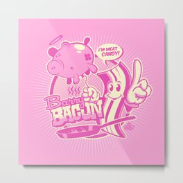 MEET BARRY BACON! Metal Print