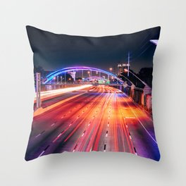 Southern Lights Throw Pillow