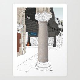 Schlesisches Tor Art Print