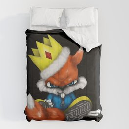King Conker [Conker's Bad Fur Day Fan Art] Comforters