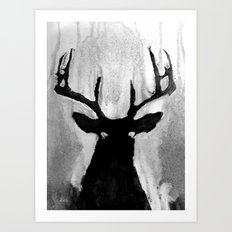 Whitetail - Buck Art Print