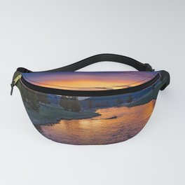 National Park in Sunset Fanny Pack