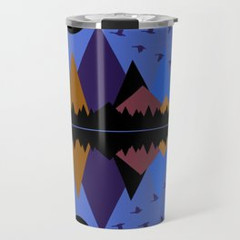 Geese On The Wing Travel Mug