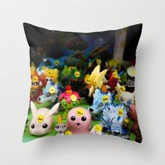 NAMBA, OSAKA Throw Pillow