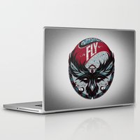 fly Laptop & iPad Skins featuring Fly by Andreas Preis