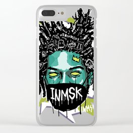 Halloween King of street Clear iPhone Case