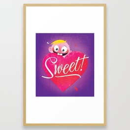 Sweet Valentine's Framed Art Print