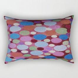 Many colors of Circles Rectangular Pillow