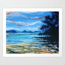 Lawa Island Art Print