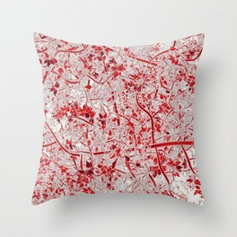 Welcome to the Jungle RED Throw Pillow