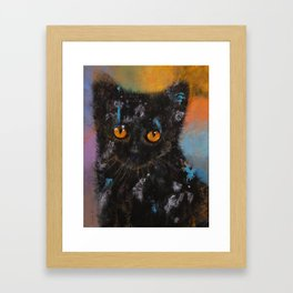 Bombay Kitten Framed Art Print