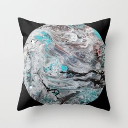 Dark Side of the Moon Throw Pillow
