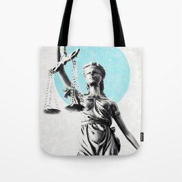 Lady of justice Tote Bag