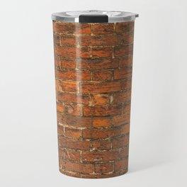 Stone Tile Wall pattern Travel Mug