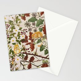 Marsh Tit and Field Mice Stationery Cards