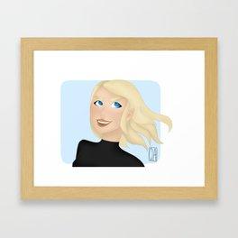 Fire Queen Framed Art Print