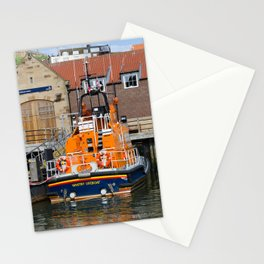 Whitby lifeboat Stationery Cards
