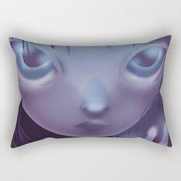 Weird Girl Rectangular Pillow