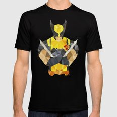 Polygon Heroes - Wolverine Mens Fitted Tee X-LARGE Black