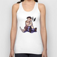 destiel Tank Tops featuring He didn't take it well... by rnlaing