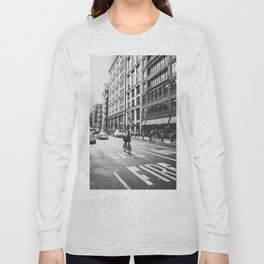 New York City Bicycle Ride in Soho Long Sleeve T-shirt