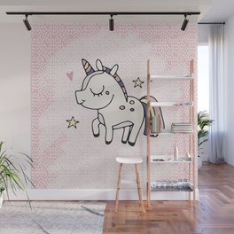 Unicorn sweety Wall Mural