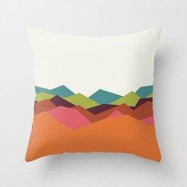 Chevron Mountain Throw Pillow