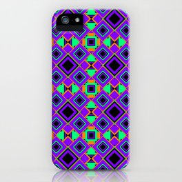 RETRO PATTERN  iPhone Case