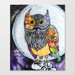 Harvest Owl Canvas Print