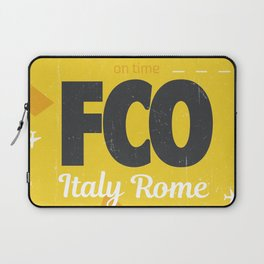 FCO Italy Rome Laptop Sleeve