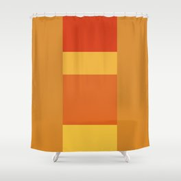 Tequila Sunrise No. 3 Shower Curtain