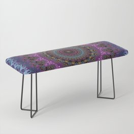 colorful fractal kaleidoscope Bench