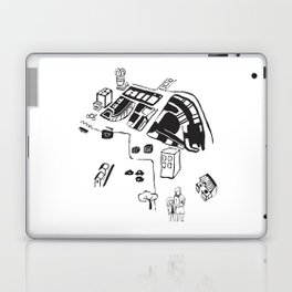 hungry cats - Daytime Laptop & iPad Skin