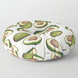 avocado pattern Floor Pillow