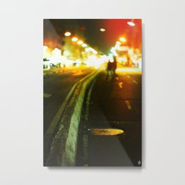 On the streets Metal Print