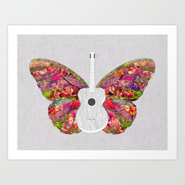No Strings Attached Art Print