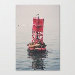 Ocean Sleep Canvas Print